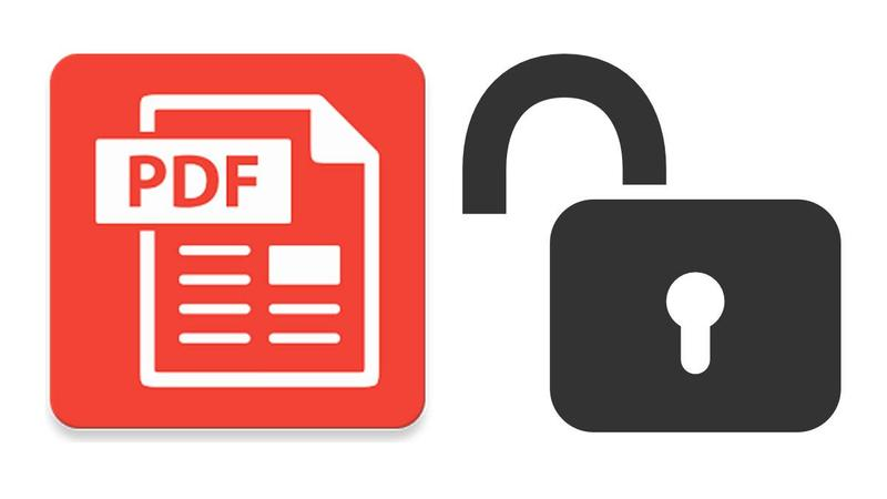 Lock and Unlock Your PDF Files for Free